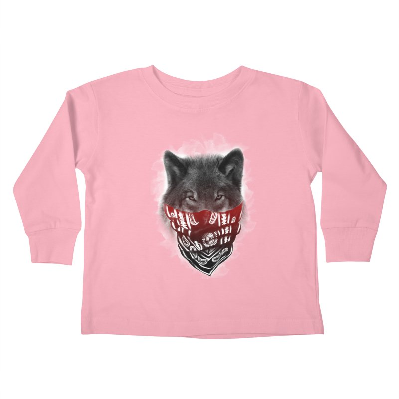 gangster Kids Toddler Longsleeve T-Shirt by jun21's Artist Shop