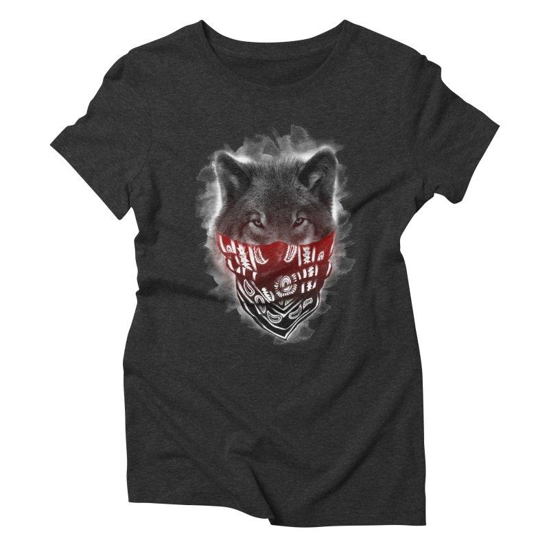 gangster Women's Triblend T-Shirt by jun21's Artist Shop
