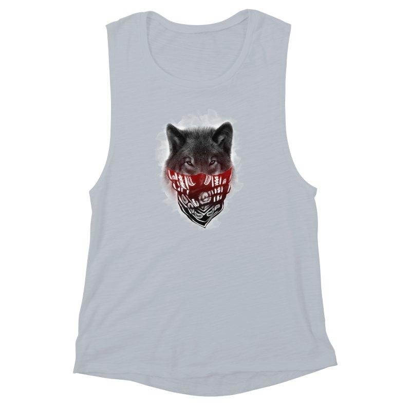 gangster Women's Muscle Tank by jun21's Artist Shop