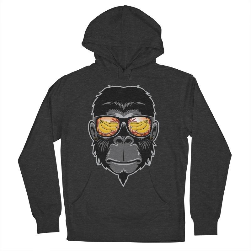 cool monkey Women's Pullover Hoody by jun21's Artist Shop