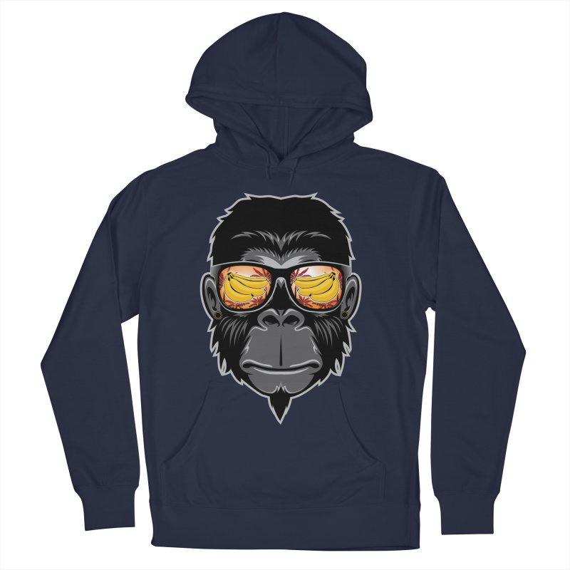 cool monkey Men's Pullover Hoody by jun21's Artist Shop
