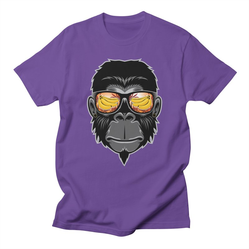 cool monkey Men's T-Shirt by jun21's Artist Shop