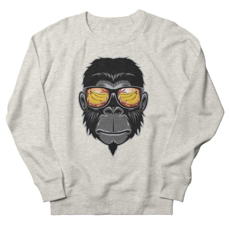 cool monkey Women's Sweatshirt by jun21's Artist Shop