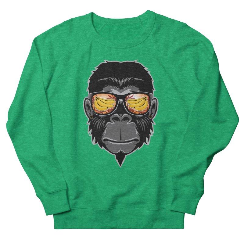 cool monkey Men's Sweatshirt by jun21's Artist Shop