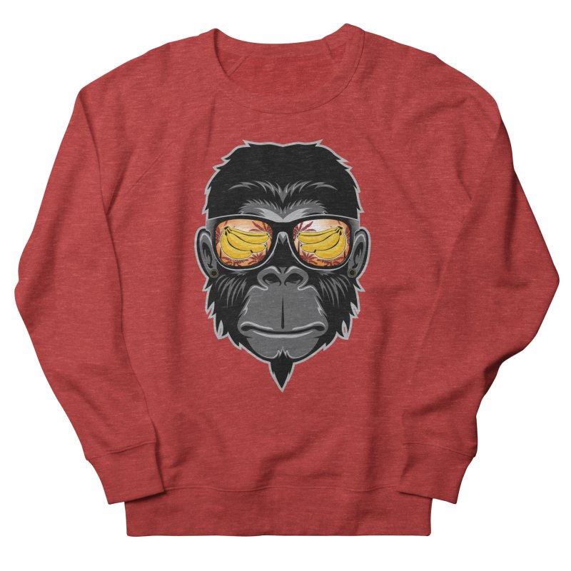cool monkey Men's Sweatshirt by jun21's Artist Shop