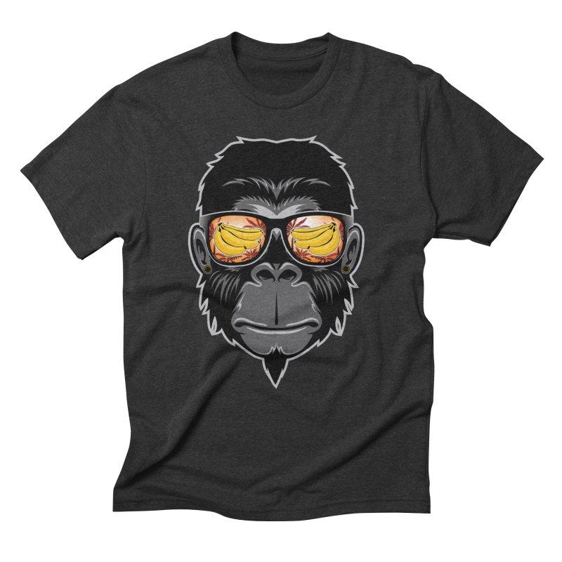 cool monkey Men's Triblend T-Shirt by jun21's Artist Shop