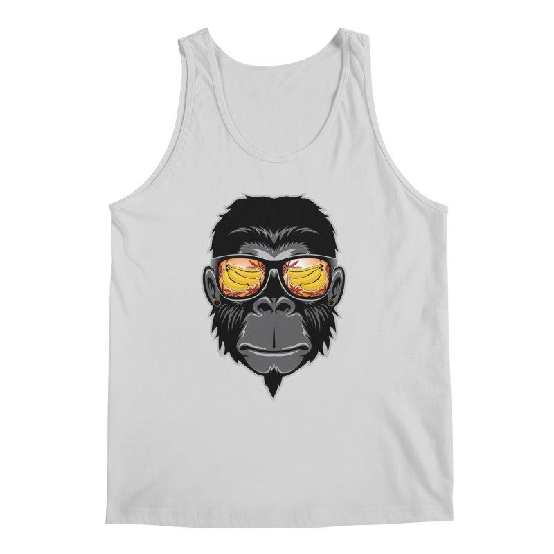cool monkey Men's Tank by jun21's Artist Shop