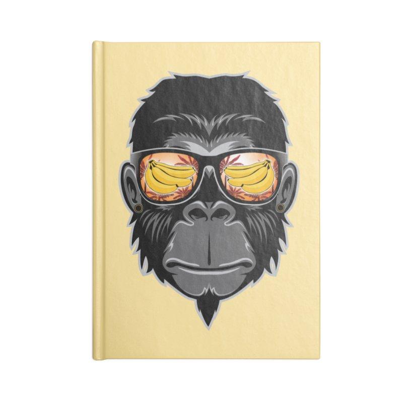 cool monkey Accessories Notebook by jun21's Artist Shop