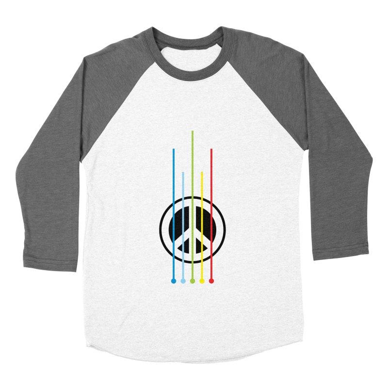 make peace not war Women's Baseball Triblend T-Shirt by jun21's Artist Shop