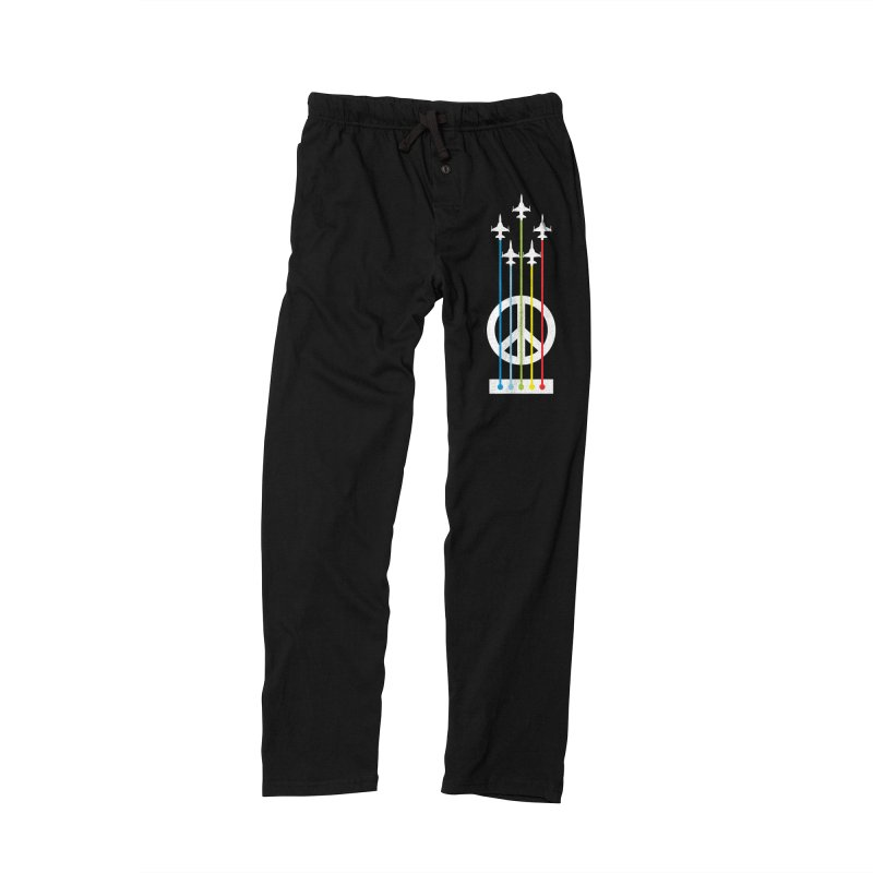 make peace not war Women's Lounge Pants by jun21's Artist Shop