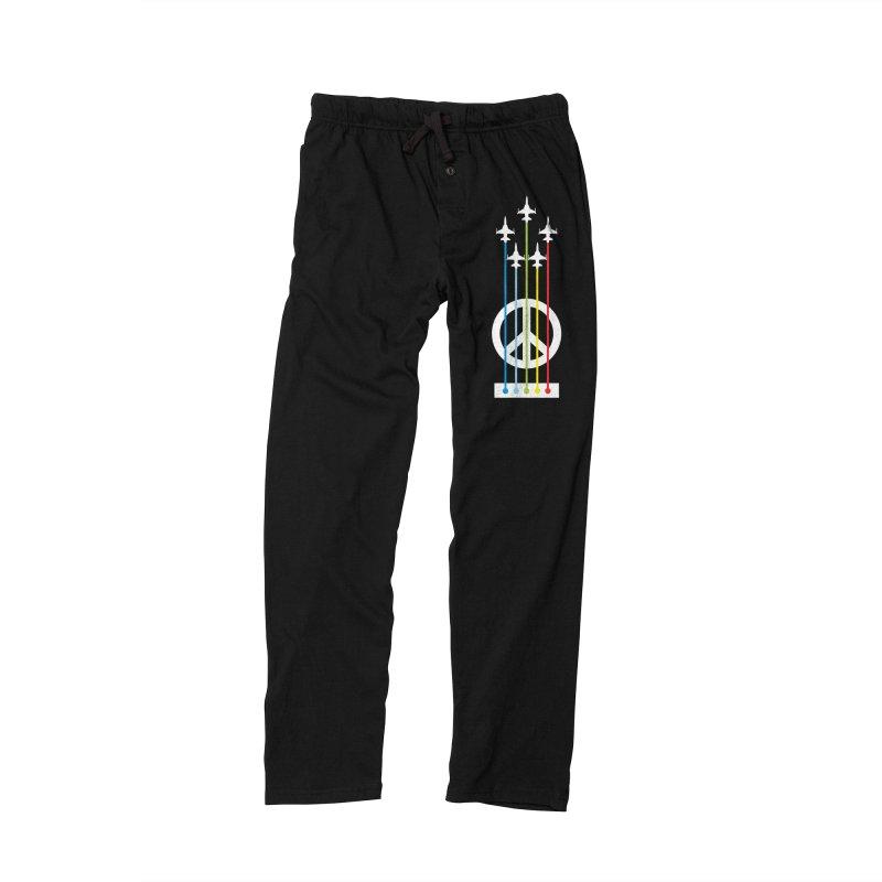 make peace not war Men's Lounge Pants by jun21's Artist Shop