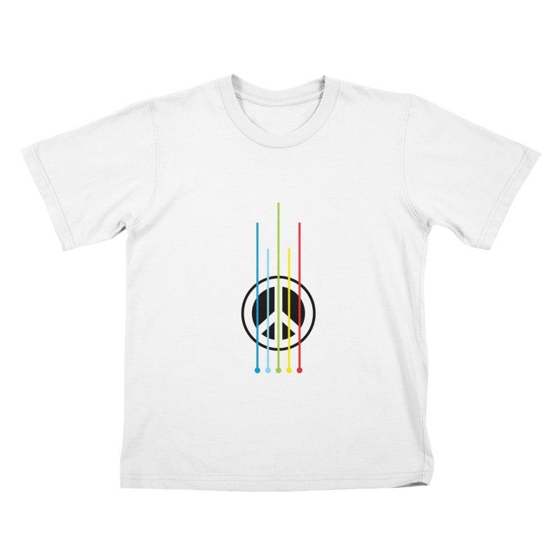 make peace not war Kids T-Shirt by jun21's Artist Shop