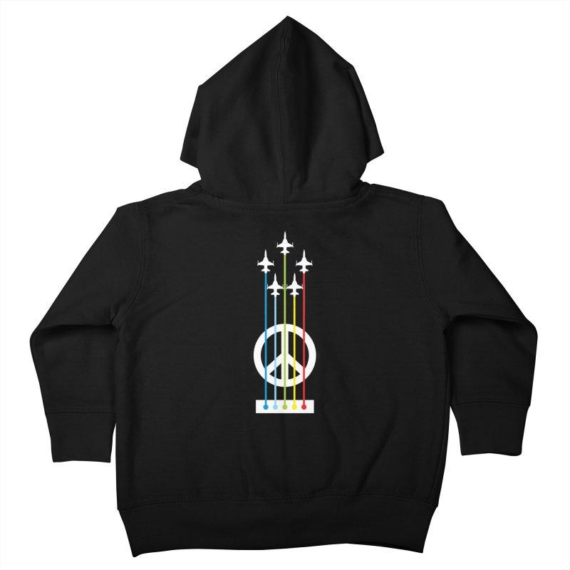 make peace not war Kids Toddler Zip-Up Hoody by jun21's Artist Shop