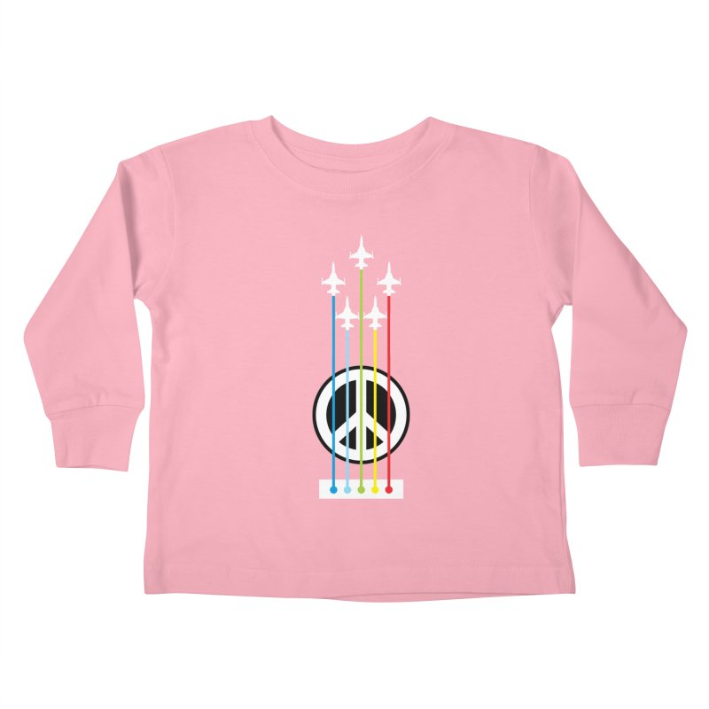 make peace not war Kids Toddler Longsleeve T-Shirt by jun21's Artist Shop