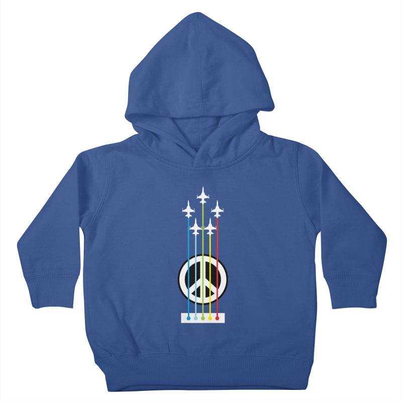 make peace not war Kids Toddler Pullover Hoody by jun21's Artist Shop