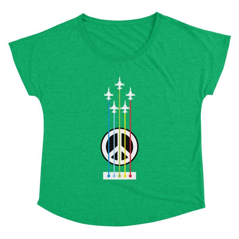 make peace not war Women's Dolman by jun21's Artist Shop