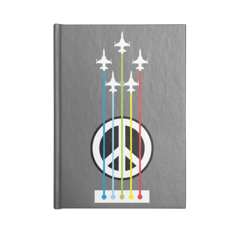 make peace not war Accessories Notebook by jun21's Artist Shop