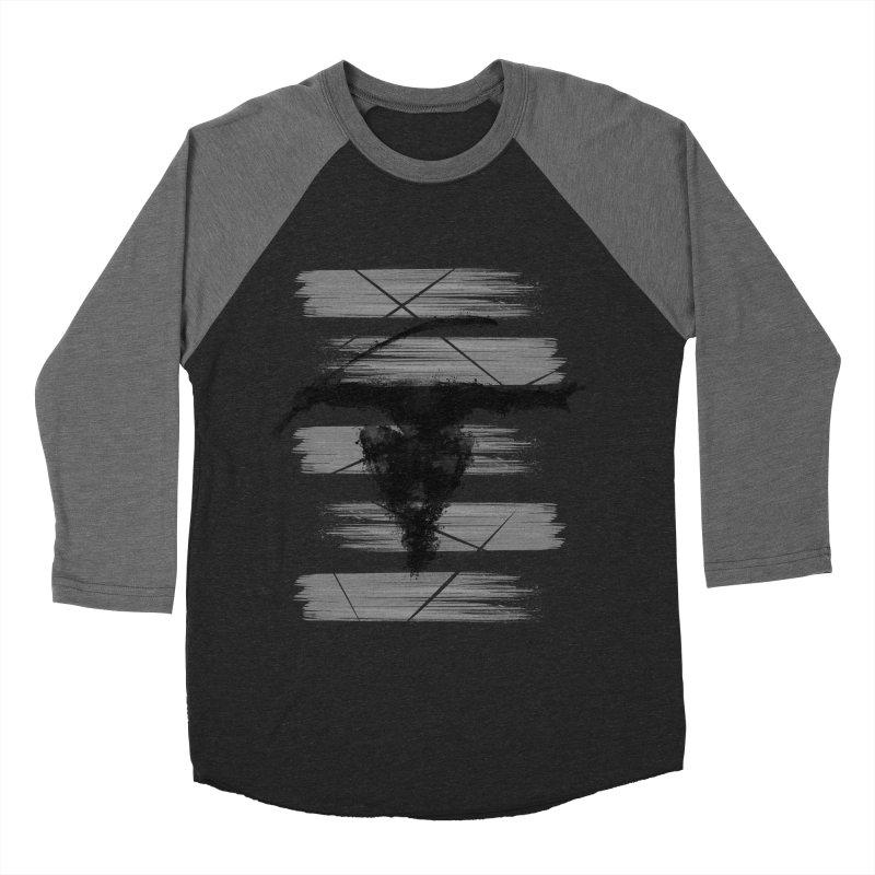 ninja Men's Baseball Triblend T-Shirt by jun21's Artist Shop