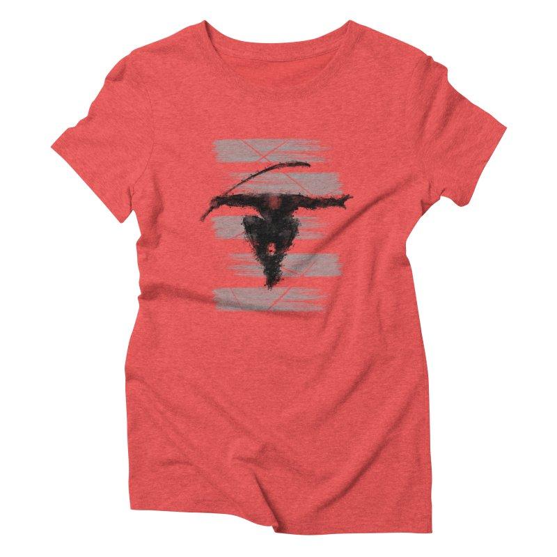 ninja Women's Triblend T-Shirt by jun21's Artist Shop