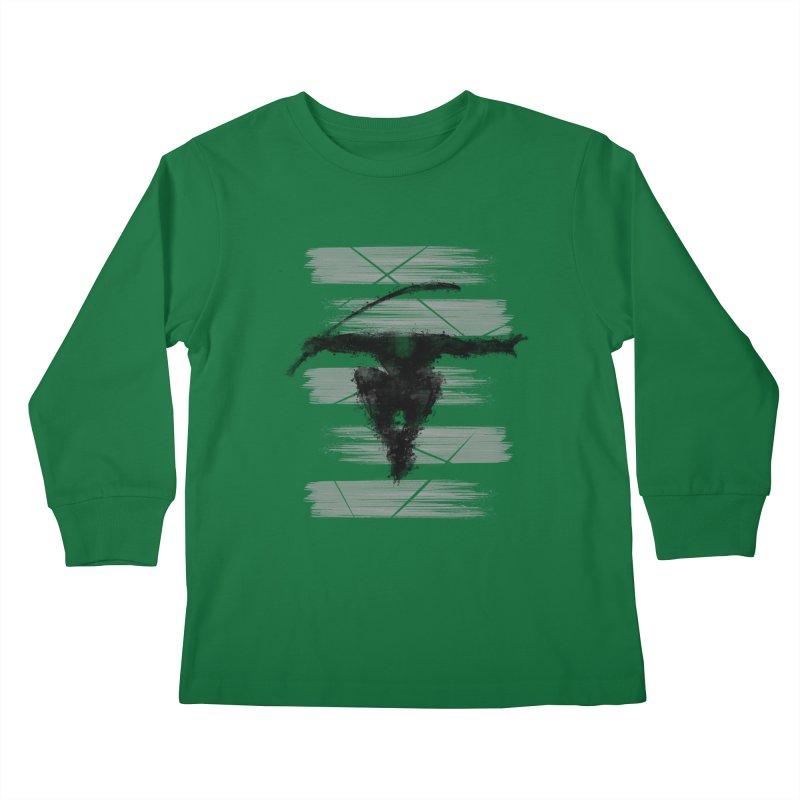 ninja Kids Longsleeve T-Shirt by jun21's Artist Shop