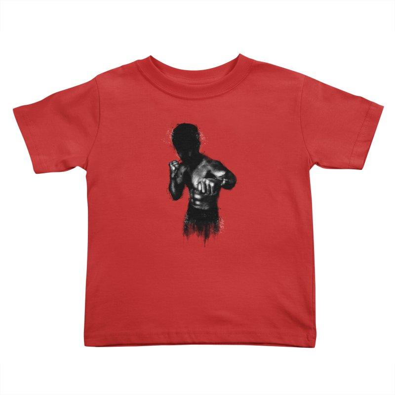 the champ Kids Toddler T-Shirt by jun21's Artist Shop