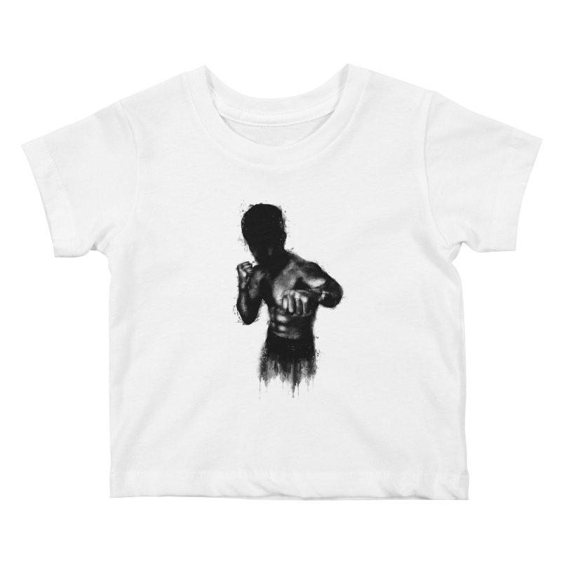 the champ Kids Baby T-Shirt by jun21's Artist Shop