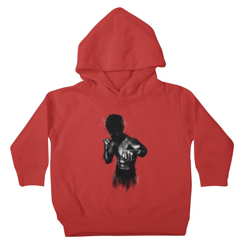 the champ Kids Toddler Pullover Hoody by jun21's Artist Shop