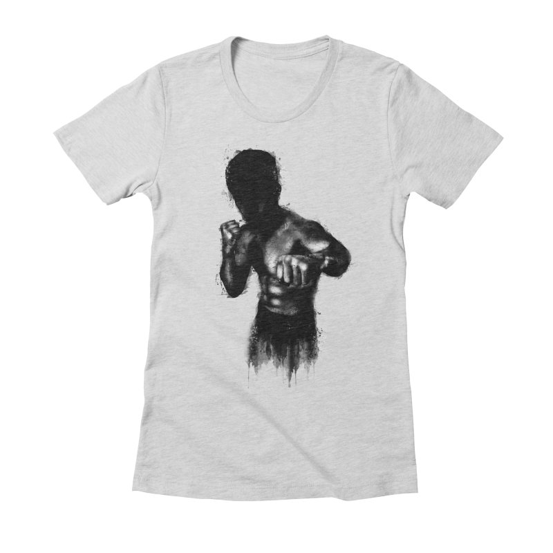 the champ Women's Fitted T-Shirt by jun21's Artist Shop