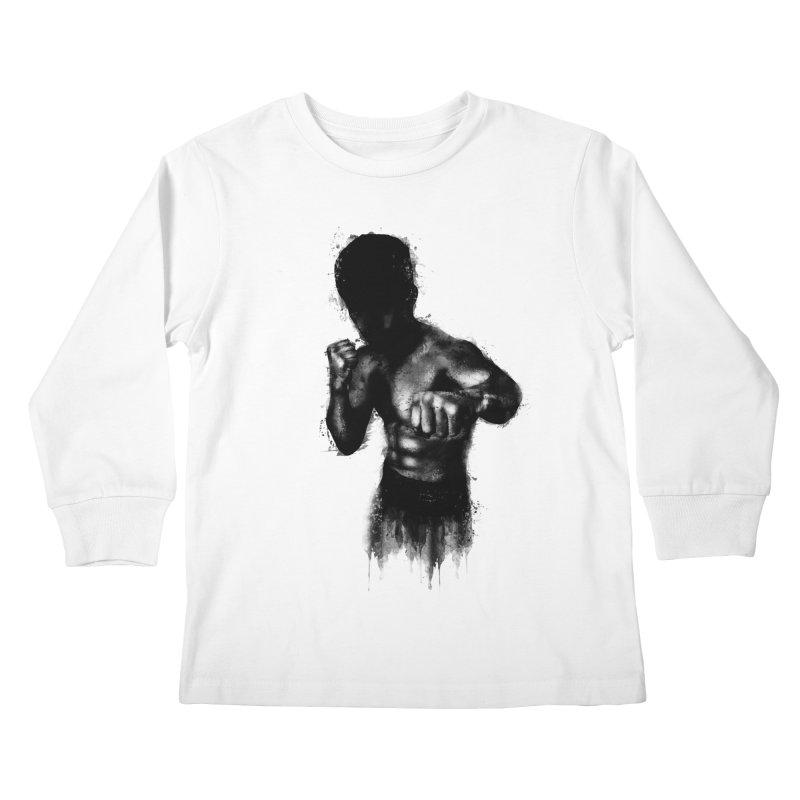 the champ Kids Longsleeve T-Shirt by jun21's Artist Shop