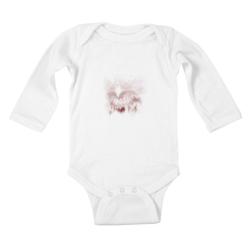 hunting time Kids Baby Longsleeve Bodysuit by jun21's Artist Shop