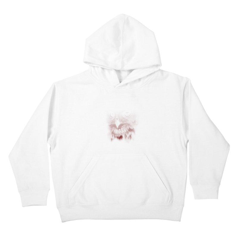 hunting time Kids Pullover Hoody by jun21's Artist Shop