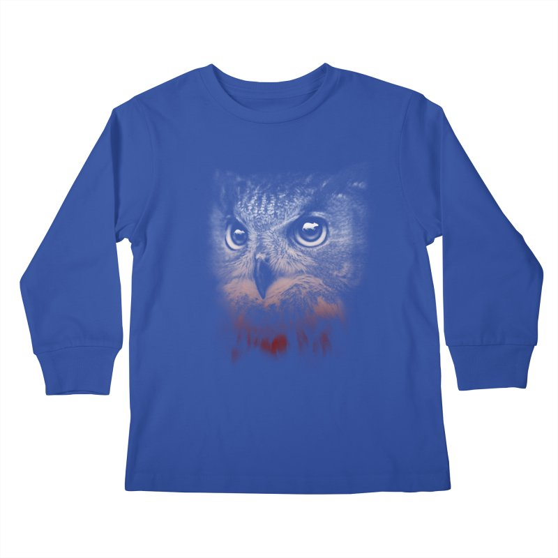 hunting time Kids Longsleeve T-Shirt by jun21's Artist Shop