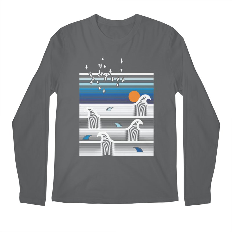 Sunset Men's Longsleeve T-Shirt by jun21's Artist Shop