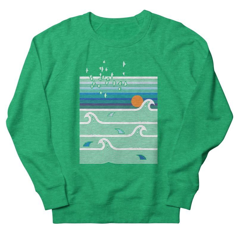 Sunset Women's Sweatshirt by jun21's Artist Shop