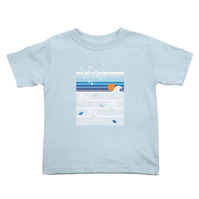 Sunset Kids Toddler T-Shirt by jun21's Artist Shop