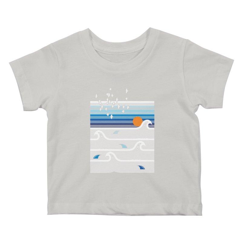 Sunset Kids Baby T-Shirt by jun21's Artist Shop