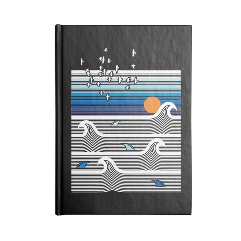 Sunset Accessories Notebook by jun21's Artist Shop