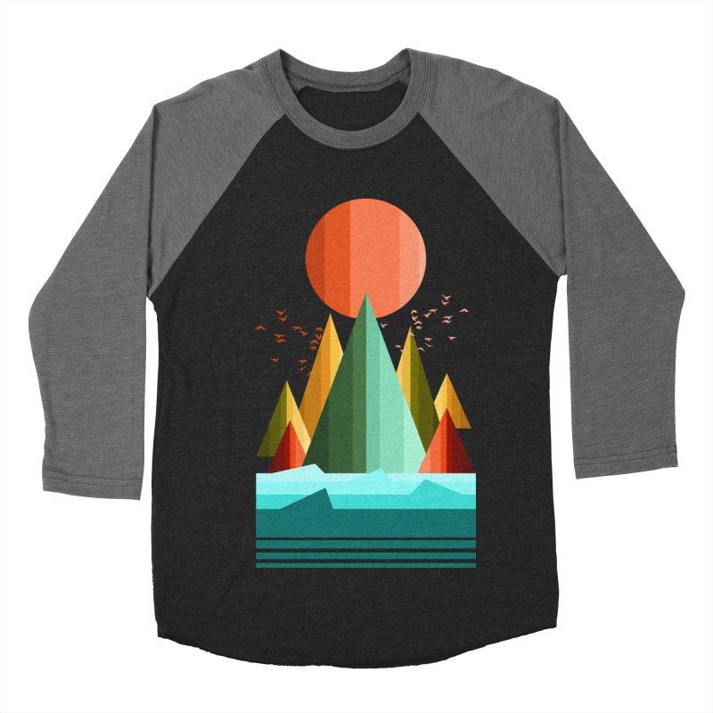 wild life Women's Baseball Triblend T-Shirt by jun21's Artist Shop