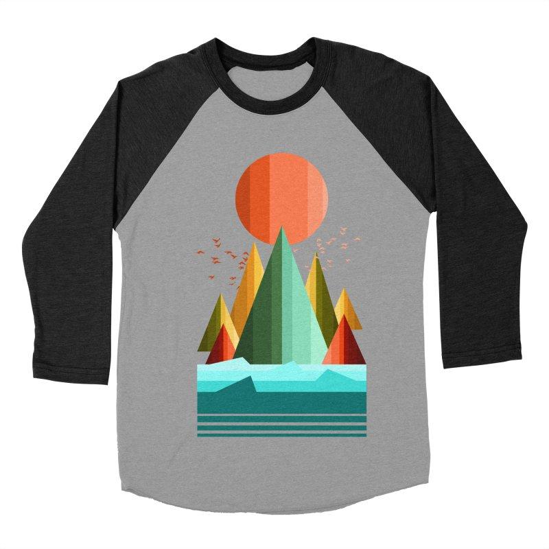 wild life Men's Baseball Triblend T-Shirt by jun21's Artist Shop