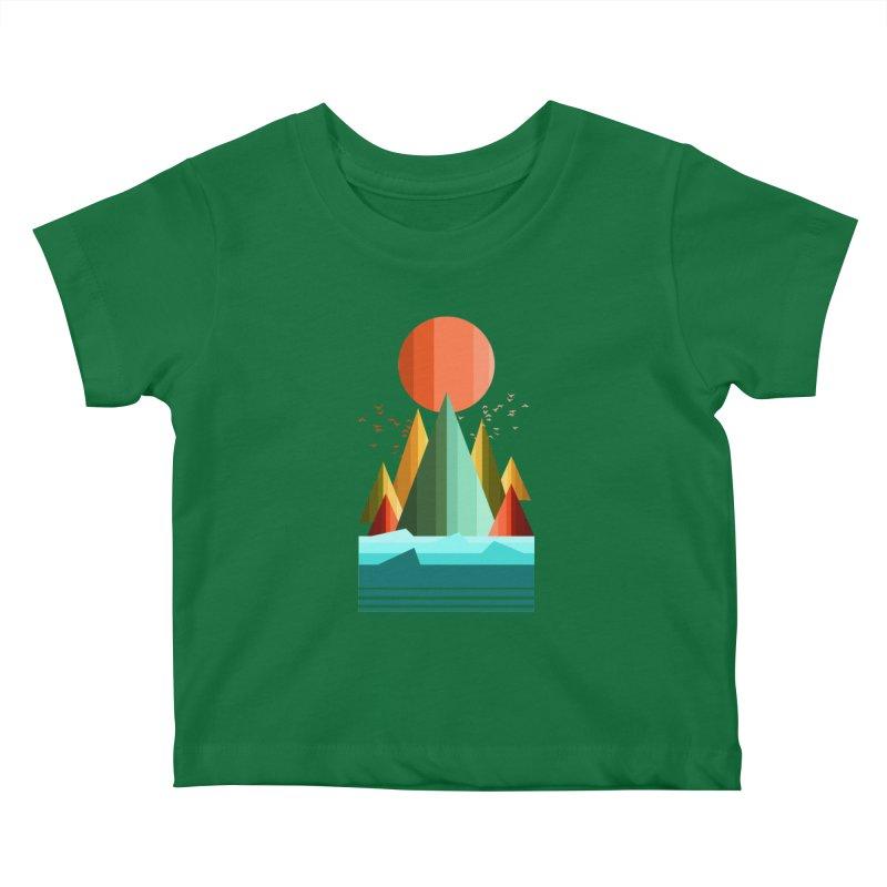 wild life Kids Baby T-Shirt by jun21's Artist Shop