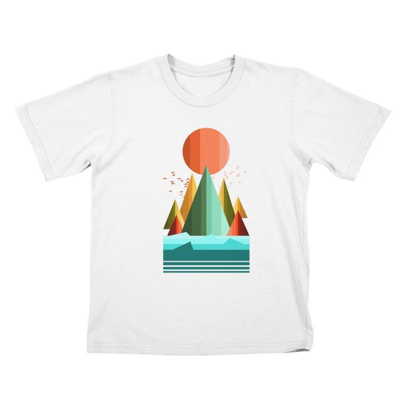 wild life Kids T-Shirt by jun21's Artist Shop