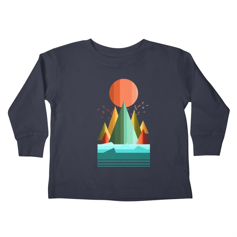 wild life Kids Toddler Longsleeve T-Shirt by jun21's Artist Shop