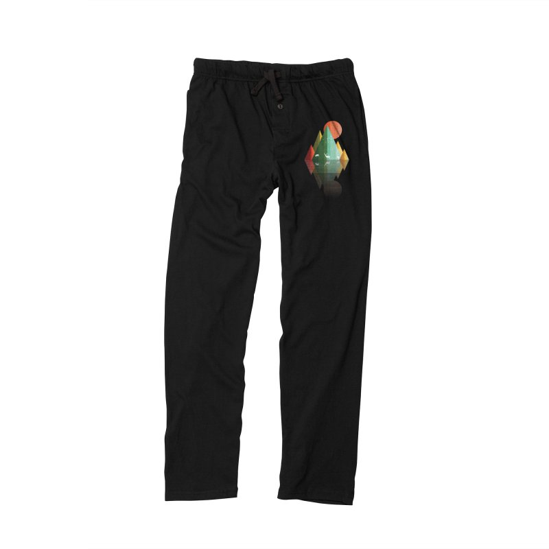 mountain deer Women's Lounge Pants by jun21's Artist Shop