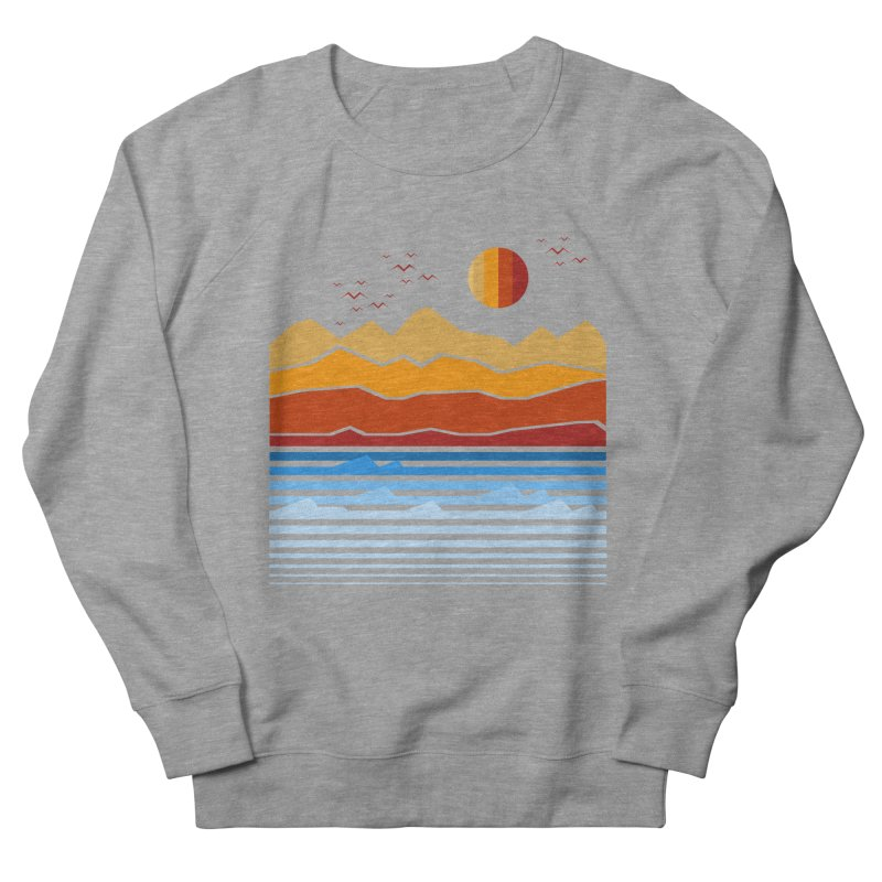 the land Women's Sweatshirt by jun21's Artist Shop
