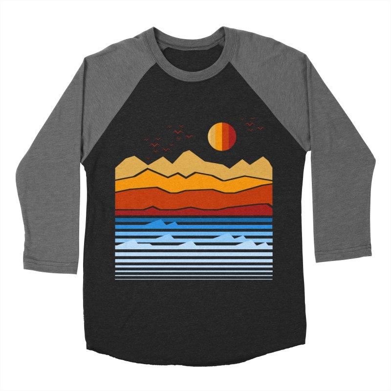 the land Men's Baseball Triblend T-Shirt by jun21's Artist Shop