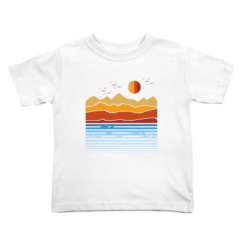 the land Kids Toddler T-Shirt by jun21's Artist Shop