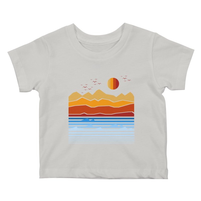 the land Kids Baby T-Shirt by jun21's Artist Shop