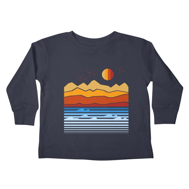 the land Kids Toddler Longsleeve T-Shirt by jun21's Artist Shop