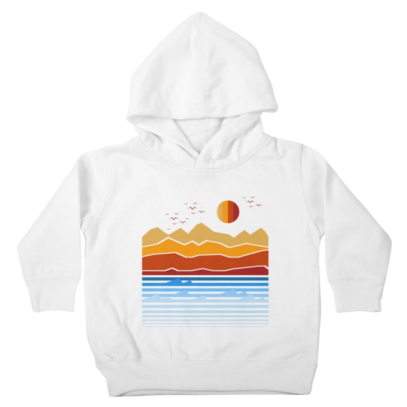 the land Kids Toddler Pullover Hoody by jun21's Artist Shop
