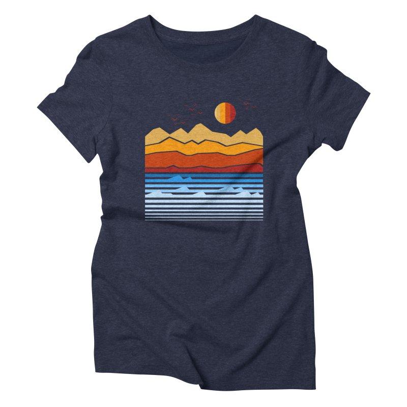 the land Women's Triblend T-Shirt by jun21's Artist Shop